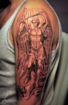 Anjo no braco