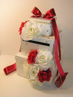 Wedding Card Box Gift Card Box  Money Box by bwithustudio on Etsy, $125.00