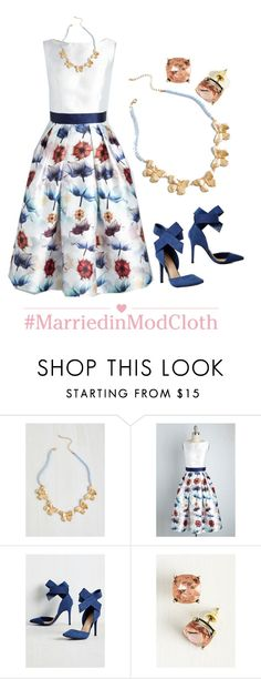 """""""Dulcet to Go Dress"""" by modcloth ❤ liked on Polyvore"""