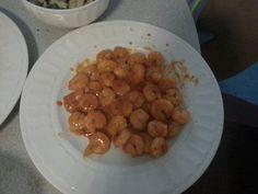 tomato sourced  shrimp