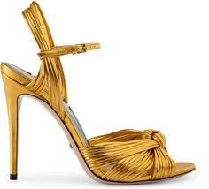 Metallic gold sandal | #Chic Only #Glamour Always