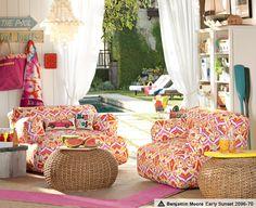 Natural Kaleidoscope Eco Lounge | PBteen