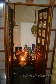 Whats Ur Home Story: Pooja roomdecor, Indian prayer room