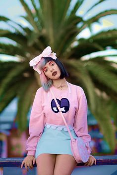 Melanie Martinez in Santa Monica- SteamyintheCity so cute love her new music…