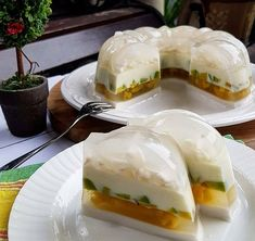 Resep Puding es teler MrJelly is part of Pudding desserts - Cold Desserts, Fancy Desserts, Pudding Desserts, Pudding Recipes, No Bake Desserts, Indonesian Desserts, Indonesian Food, Puding Cake, Cooking Time