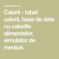 Calorii - tabel calorii, baza de date cu caloriile alimentelor, simulator de meniuri. Kefir, Nachos, Education, Math Equations, Calculator, Tortilla Chips, Onderwijs, Learning