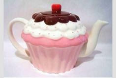 Teapot and cup cake both!