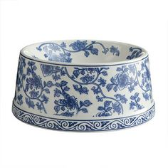 Dean Farris Style: Blue and White Porcelain Pet Bowl | Accesory | Wisteria