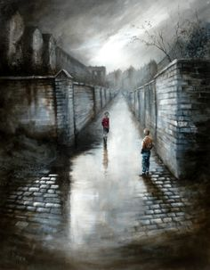 Bob Barker is a UK based artist, born and bred in Yorkshire. It's taken Bob Barker twenty years for his long time love of painting to evolve from a hobby to the point where interest in his work has taken on worldwide awareness. Lighthouse Painting, Landscape Drawings, Pictures To Paint, Vintage Art, Watercolor Art, Photo Art, Scenery, Fine Art, Illustration