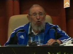 Fidel Castro Gives Rare Speech