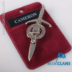 Cameron Clan Crest K
