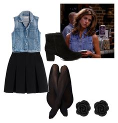 """""""Rachel Green Outfit"""" by kayrod29 on Polyvore featuring Alexander Wang, Madewell and Steve Madden"""