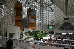 Inside the Crystal Cathedral