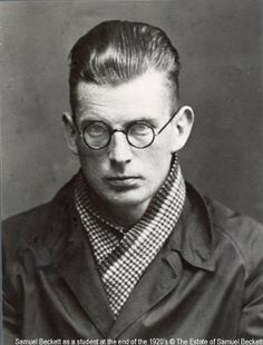 Samuel Beckett - Novelist, playwright, theatre director, and poet Samuel Beckett, Harlem Renaissance, Gallows Humor, Writers And Poets, Book Writer, Nobel Prize, Playwright, Monologues, High Society