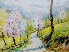 tablou Peisaj de Primavara