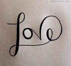 love - would make a cool tat All You Need Is Love, Like Me, My Love, Employer Branding, Love Letters, Tattoo Inspiration, True Love, I Tattoo, Decir No