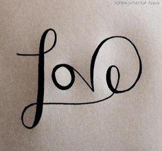 L'Amour s'écrit d'un seul jet, sans discontinuité...