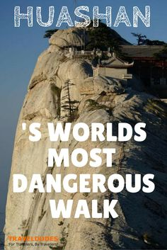 Huashan Stairway to Heaven - The most dangerous walk of the world! | Travel Dudes Social Travel Community http://www.traveldudes.org/travel-diaries/huashan-stairway-heaven-most-dangerous-walk-world/11776?utm_content=buffer21dbe&utm_medium=social&utm_source=pinterest.com&utm_campaign=buffer