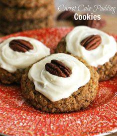 Carrot Cake Pudding Cookies - melissassouthernstylekitchen.com
