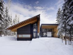Wooden Snow House