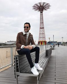 More looks by Moti Ankari: http://lb.nu/metroman #fashion #menswear #sneakers #style #blogger #nyc #mensfashion #boy #nyfw