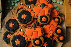 Farm Tractor Birthday Party | Spaceships and Laser Beams