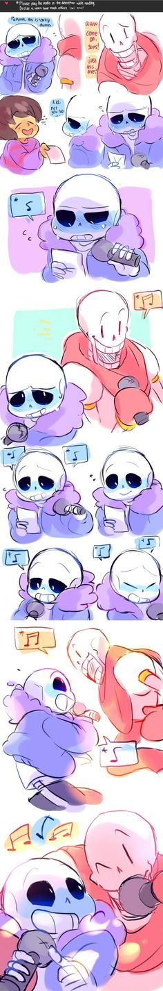 Drop Pop Candy Sans and Papyrus (with audio) by ttoba on DeviantArt