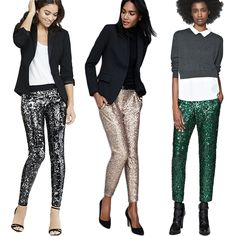 Economy of Style: Sparkle in Sequin Pants