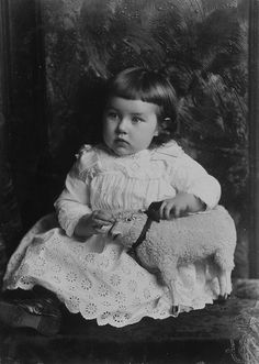 "A beautiful child identified only as ""Mrs. Meeker's baby"", Montreal, QC, 1886."