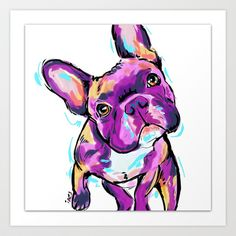 French bulldog by Cartoon Your Memories