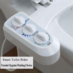 Smart Toilet Bidet Flushbonading Female Hygeian Flushing Device