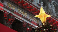 The new peaks come after fresh Commerce Department data pointed to a increase in consumer spending in November, the second month in a row to see a rise Ny Stock Exchange, Wall Street, Holidays, Blog, Holidays Events, Holiday, Blogging, Vacation, Annual Leave