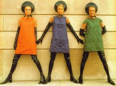 Avengers in Time: 1968, Fashion: Pierre Cardin Space Age look