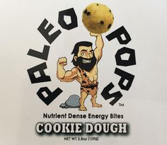 These yummy paleo chocolate chip cookie balls taste just like cookie dough right out of the bowl but there's no raw eggs involved! #paleosnacks #cookiedough #healthydesserts