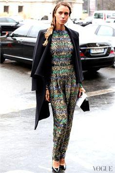 Paris Haute Couture S/S 2013 - Street Style