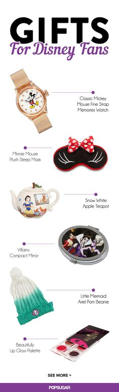 If you love Disney as much as us, chances are you have a few loved ones who are a little obsessed as well. Whether your friends and family are all about princesses or Pixar, we found 35 gifts that grown-up Disney fans will go crazy for. You would be surprised by just how many products have a touch of the most magical brand on earth.