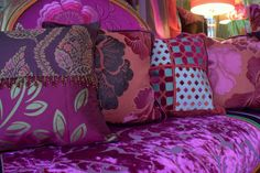 Custom Made Custom Made Cushions With Feather Inserts And Coordinating Bedding Throws And Bedding