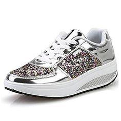 quality design 7f29d b0c9f QZBAOSHU Donne Sneakers Dimagrante Scarpe Passeggio  Scarpe Ginnastica  Scarpe Di Moda, Vestiti Alla Moda