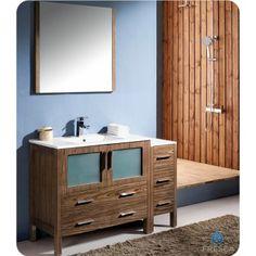 #Bathroomvanity #Sidecabinet #Integratedsink