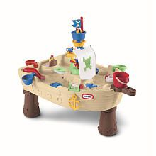 Little Tikes Anchors Away Water Play Pirate Ship $80