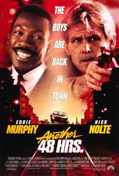 Another 48 HRS. (1990). Starring: Eddie Murphy, Nick Nolte and Tisha Campbell