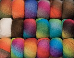 Chroma Worsted Yarn Knitting Yarn from KnitPicks.com--blog elsewhere on site shows this used for Clrcled Square granny afghan