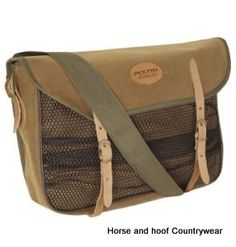 Jack Pyke Canvas Walking Boot Bag Heavyduty Outdoor Hunting Cotton Hiking Brown