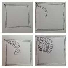 machine quilting feather tutorial