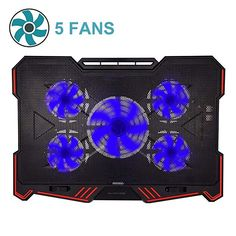 88d360a7ed5 ThreeLeaf@T200K2 10-16inch Laptop Cooling Pad (5Fans Location Coverage and  Whisper Quiet