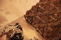 Wooden Block for textile hand-printing jaypore.com