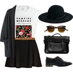 A fashion look from February 2014 featuring floral tops, open cardigan and high-waisted skirt. Browse and shop related looks. Pretty Outfits, Cool Outfits, Summer Outfits, Casual Outfits, Fashion Outfits, Womens Fashion, Beach Outfits, Casual Clothes, Modest Fashion