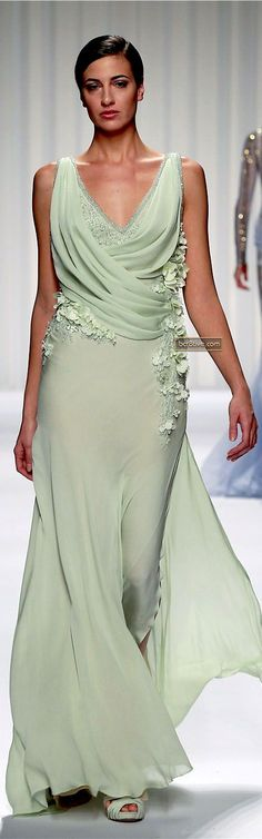 dress @roressclothes closet ideas women fashion outfit clothing style Abed Mahfouz Couture Spring Summer 2013: