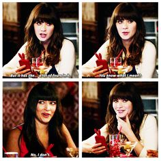 """But it has like...a lot of fours in it."" {gif} #newgirl"