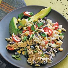 Orzo Salad with Spicy Buttermilk Dressing - 57 Quick & Delicious Summer Salad Recipes - Southern Living
